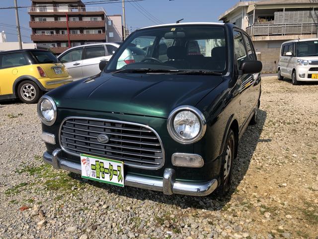 沖縄の中古車 ダイハツ ミラジーノ 車両価格 6万円 リ済込 2001(平成13)年 15.6万km グリーンII