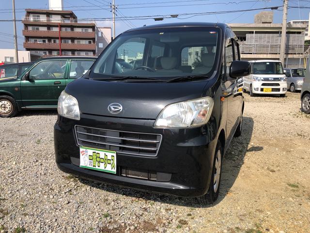 沖縄の中古車 ダイハツ タントエグゼ 車両価格 34万円 リ済込 平成22年 7.8万km ブラックM