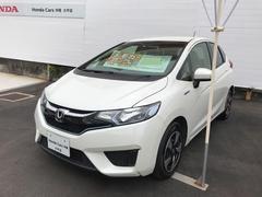 沖縄の中古車 ホンダ フィットハイブリッド 車両価格 167.8万円 リ済別 平成29年 0.7万K パールホワイト