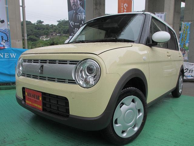 沖縄の中古車 スズキ アルトラパン 車両価格 123.4万円 リ未 新車  各色