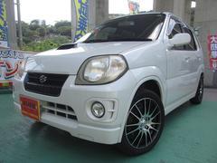 沖縄の中古車 スズキ Keiスポーツ 車両価格 25万円 リ済込 平成12年 14.1万K パールホワイト
