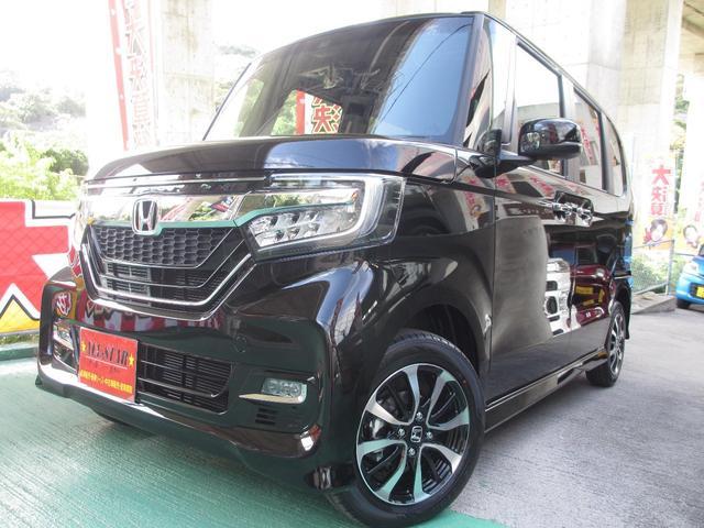 沖縄県の中古車ならN-BOXカスタム G・Lホンダセンシング バックモニターETC