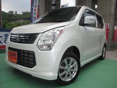 沖縄の中古車 スズキ ワゴンR 車両価格 50万円 リ済込 平成24年 8.0万K パールホワイト