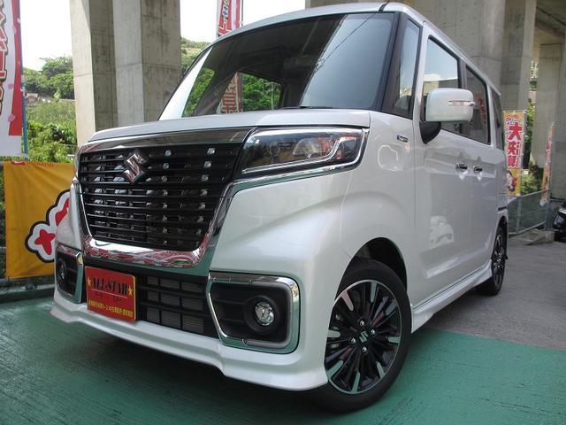 沖縄の中古車 スズキ スペーシアカスタム 車両価格 164.8万円 リ未 新車  各色