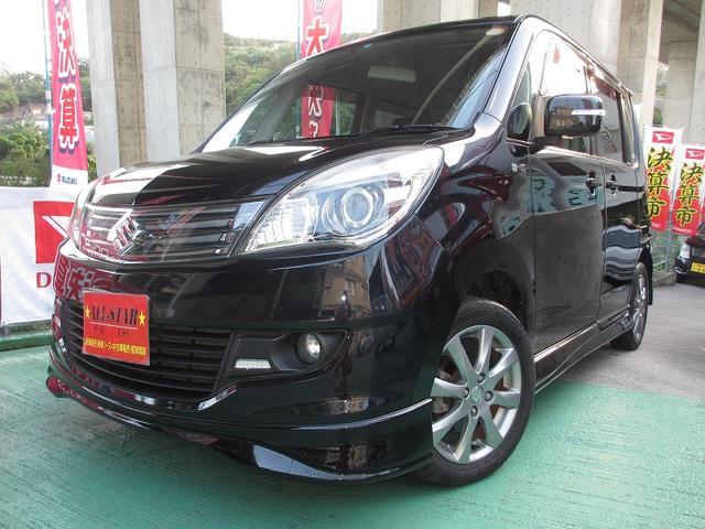 沖縄の中古車 スズキ ソリオ 車両価格 70万円 リ済込 平成24年 6.2万km ブラックM
