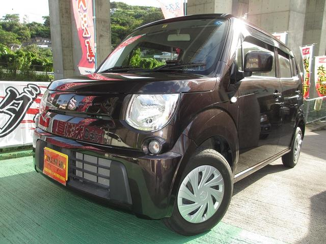 沖縄の中古車 スズキ MRワゴン 車両価格 63.3万円 リ済込 2013(平成25)年 3.9万km ブラウンM