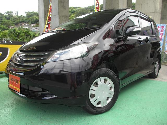 沖縄の中古車 ホンダ フリード 車両価格 55.5万円 リ済込 2010(平成22)年 6.3万km ダークパープルM