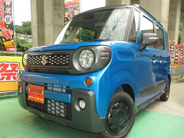沖縄県の中古車ならスペーシアギア ハイブリッドXZ ツートンカラー