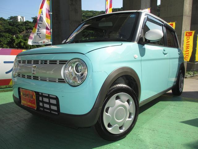 沖縄県の中古車ならアルトラパン Sタイプ ツートンカラー ワンオーナー車