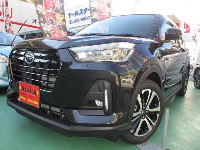 沖縄の中古車 ダイハツ ロッキー 車両価格 197.8万円 リ済込 2019(令和1)年 919km ブラックM