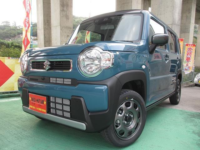 沖縄県の中古車ならハスラー ハイブリッドG ツートンカラー 全方位モニター付ナビテレビ