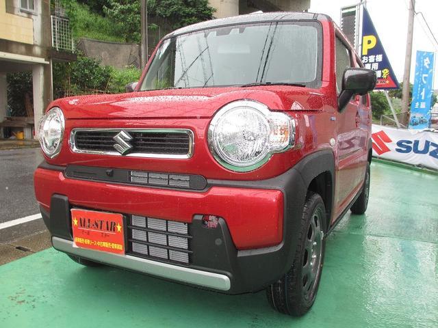 沖縄の中古車 スズキ ハスラー 車両価格 146.1万円 リ未 新車  レッドII