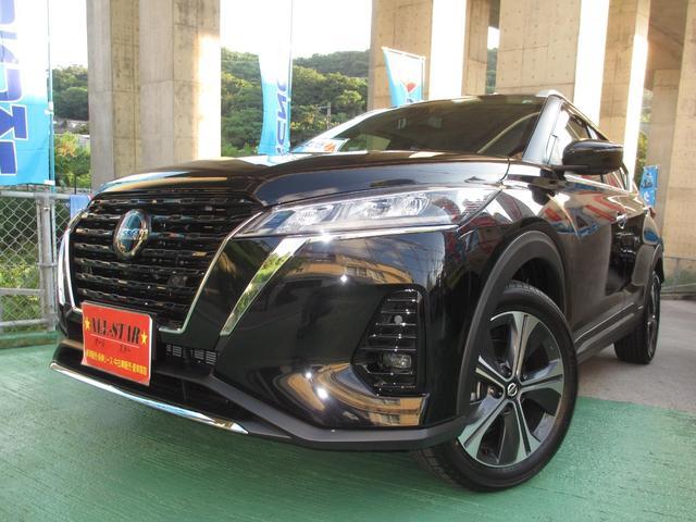 沖縄県の中古車ならキックス X ツートーンインテリアエディション アランドビューモニター