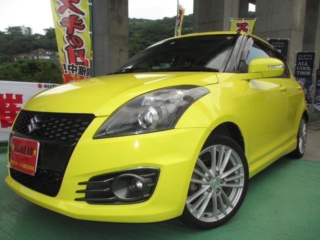 沖縄の中古車 スズキ スイフトスポーツ 車両価格 76.5万円 リ済込 2012(平成24)年 6.7万km イエロー