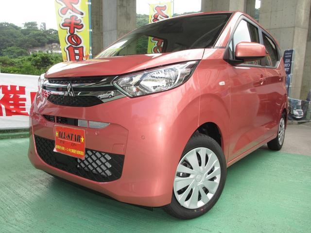 沖縄の中古車 三菱 eKワゴン 車両価格 135.7万円 リ済込 2020(令和2)年 9km ピンクM