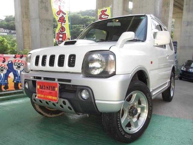 沖縄の中古車 スズキ ジムニー 車両価格 47.8万円 リ済込 2001(平成13)年 15.7万km パールII