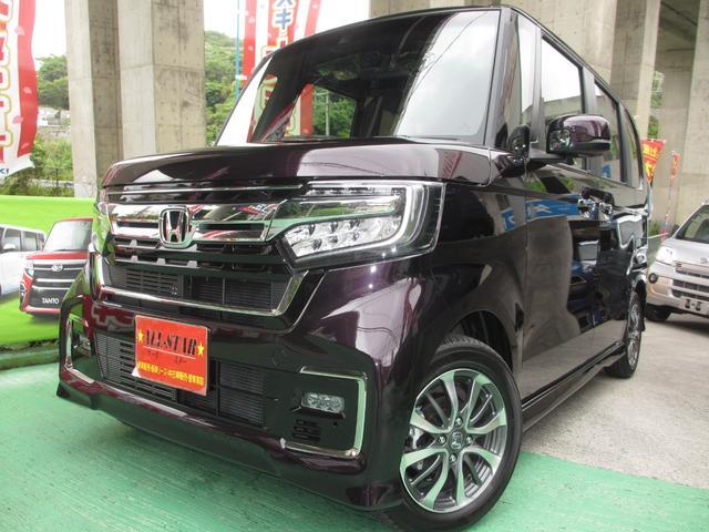 沖縄の中古車 ホンダ N-BOXカスタム 車両価格 179.8万円 リ未 新車  各色