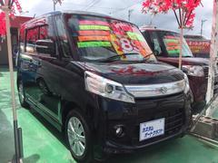 沖縄の中古車 スズキ スペーシアカスタム 車両価格 88万円 リ済込 平成25年 7.4万K ブラック