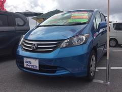 沖縄の中古車 ホンダ フリード 車両価格 78万円 リ済込 平成23年 8.6万K ブルー
