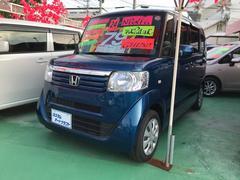 沖縄の中古車 ホンダ N BOX+ 車両価格 78万円 リ済込 平成24年 3.1万K ブルー