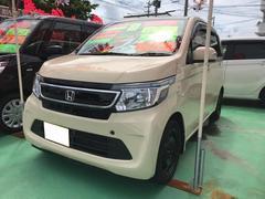 沖縄の中古車 ホンダ N−WGN 車両価格 74万円 リ済込 平成26年 6.1万K ベージュ