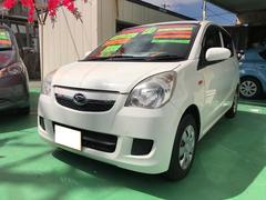 沖縄の中古車 ダイハツ ミラ 車両価格 34万円 リ済込 平成21年 11.8万K ホワイト
