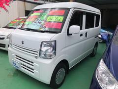 沖縄の中古車 スズキ エブリイ 車両価格 84万円 リ済込 平成28年 1.0万K ホワイト