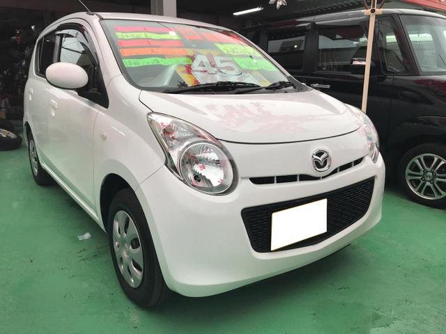 沖縄の中古車 マツダ キャロル 車両価格 44万円 リ済込 平成24年 7.7万km ホワイト