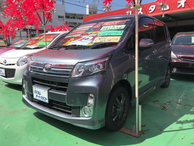沖縄の中古車 ダイハツ ムーヴ 車両価格 74万円 リ済込 2013(平成25)年 5.5万km グレーM