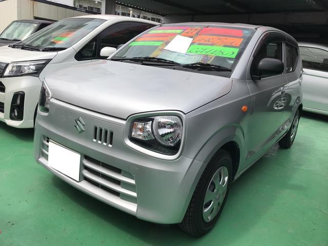 沖縄の中古車 スズキ アルト 車両価格 64万円 リ済別 平成27年 4.3万km シルキーシルバーメタリック