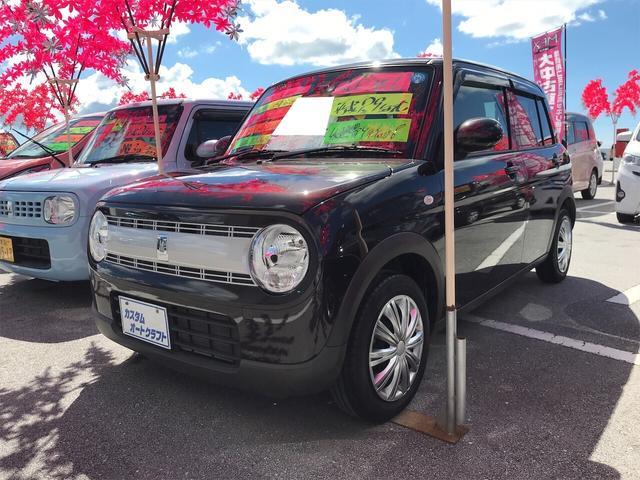 沖縄県の中古車ならアルトラパン L TV ナビ 軽自動車 衝突被害軽減システム ブラック