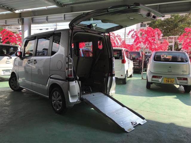 沖縄県の中古車ならN-BOX+ G 福祉車両 キーレス 両側スライドドア ABS