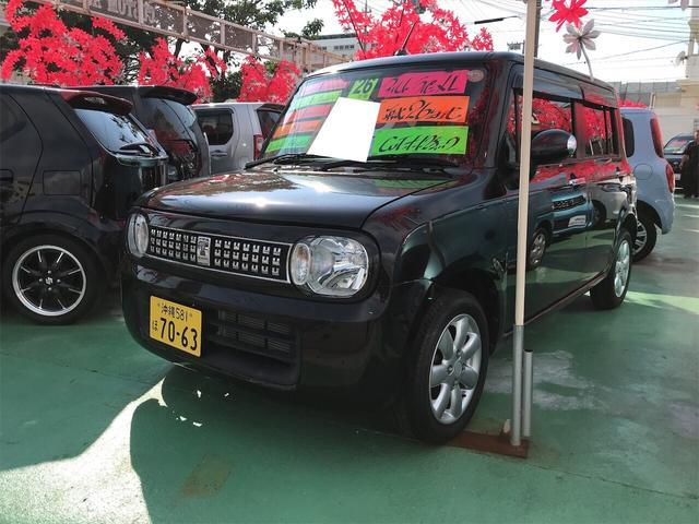 沖縄県の中古車ならアルトラパン XL TV ナビ 軽自動車 AW 4名乗り 記録簿 AC