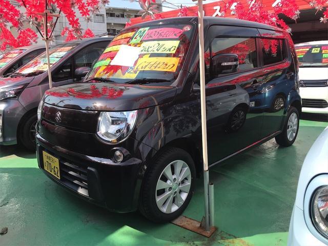 沖縄の中古車 スズキ MRワゴン 車両価格 52万円 リ済込 2012(平成24)年 8.4万km アーバンブラウンパールメタリック