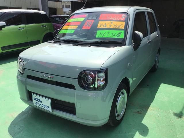 沖縄の中古車 ダイハツ ミラトコット 車両価格 94万円 リ済込 2020(令和2)年 1.4万km Lグリーン