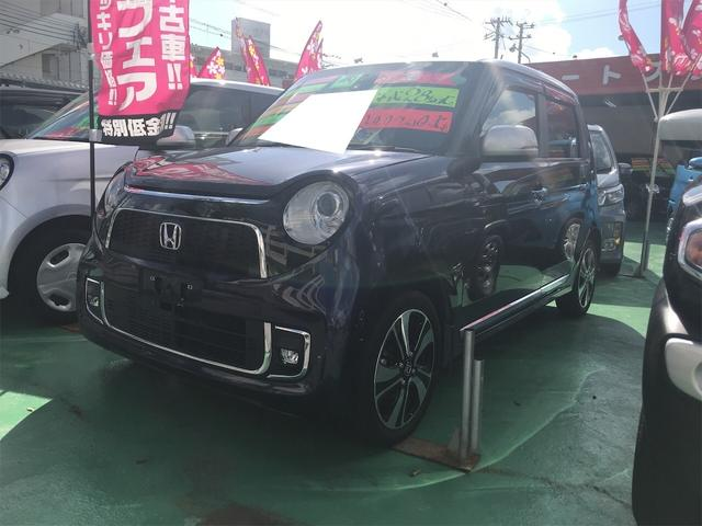 沖縄の中古車 ホンダ N-ONE 車両価格 88万円 リ済込 2016(平成28)年 4.1万km プレミアムブルームーンパールII