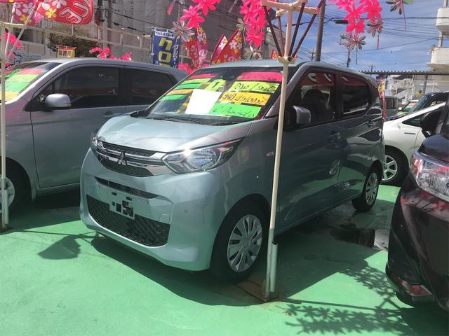 沖縄県中頭郡中城村の中古車ならeKワゴン G バックカメラ シートヒーター スマートキー ナビTV 横滑り防止装置