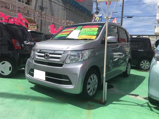 沖縄の中古車 ホンダ N-WGN 車両価格 78万円 リ済込 2016(平成28)後 6.1万km グレーM