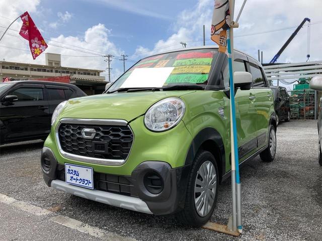 沖縄の中古車 ダイハツ キャスト 車両価格 88万円 リ済込 2015(平成27)年 4.9万km グリーンII
