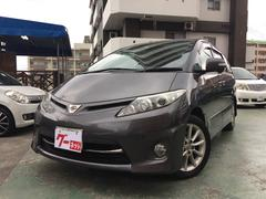 沖縄の中古車 トヨタ エスティマ 車両価格 99万円 リ済込 平成22年 8.5万K グレー