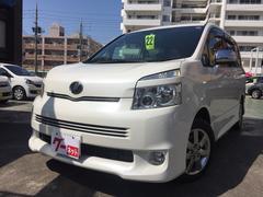 沖縄の中古車 トヨタ ヴォクシー 車両価格 89万円 リ済込 平成22年 9.3万K パール