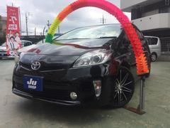 沖縄の中古車 トヨタ プリウス 車両価格 129万円 リ済込 平成25年 5.2万K ブラック