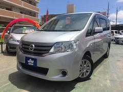 沖縄の中古車 日産 セレナ 車両価格 95万円 リ済込 平成25年 8.5万K シルバー