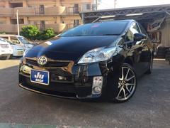 沖縄の中古車 トヨタ プリウス 車両価格 108万円 リ済込 平成23年 7.4万K ブラック