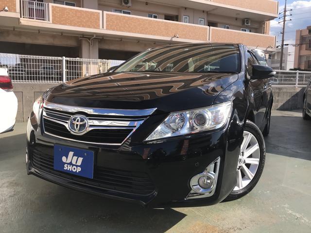 沖縄の中古車 トヨタ カムリ 車両価格 139万円 リ済込 平成24年 5.0万km ブラックM