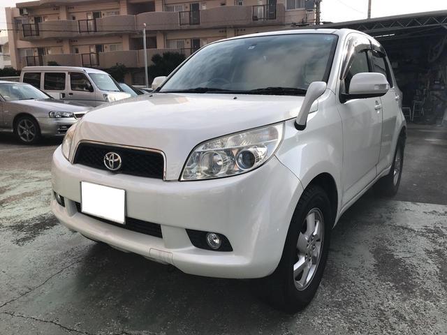 沖縄の中古車 トヨタ ラッシュ 車両価格 49万円 リ済込 平成20年 8.3万km パール