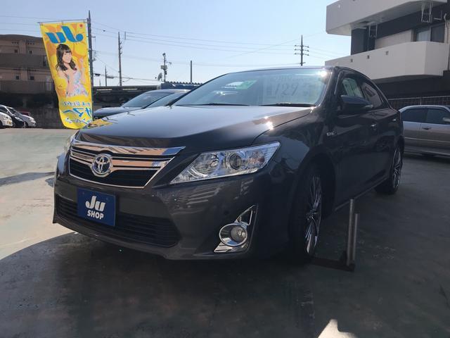 沖縄の中古車 トヨタ カムリ 車両価格 119万円 リ済込 2012(平成24)年 4.1万km ガンM