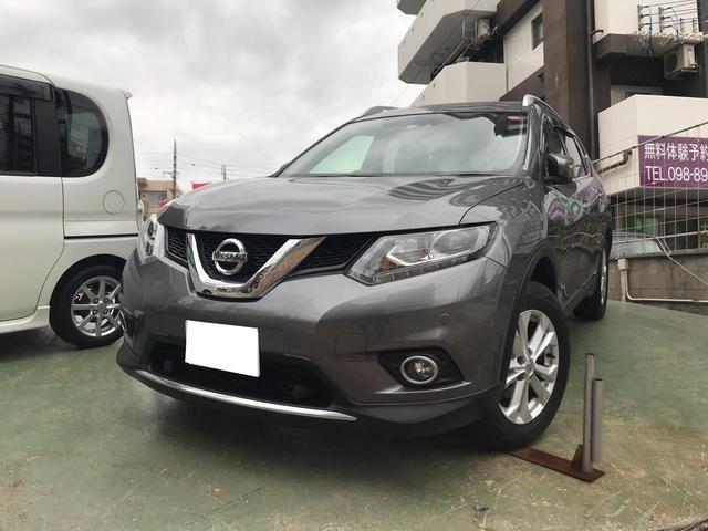 沖縄の中古車 日産 エクストレイル 車両価格 178万円 リ済込 2016(平成28)後 2.0万km グレー