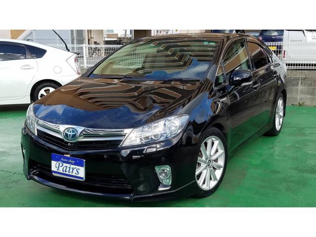トヨタ SAI G ASパッケージ フロント・バックカメラ・ローダウン・シートカバー・新品タイヤ・TVナビ