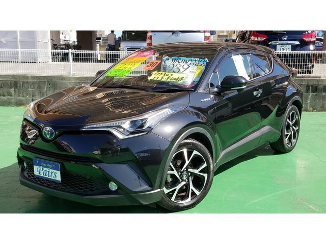 沖縄県の中古車ならC-HR G LEDエディション アルパイン11インチナビ・純正アルミ・LEDライト・ハーフレザーシート・バックガイドモニター
